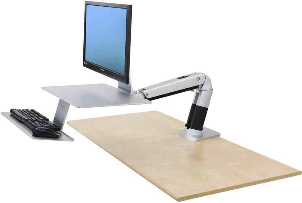 Attorneys Stay Fit with Ergotron's Sit-Stand Desk: Workfit-A