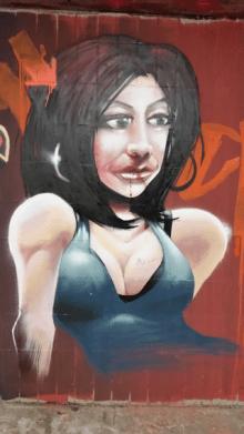 GraffityWoman