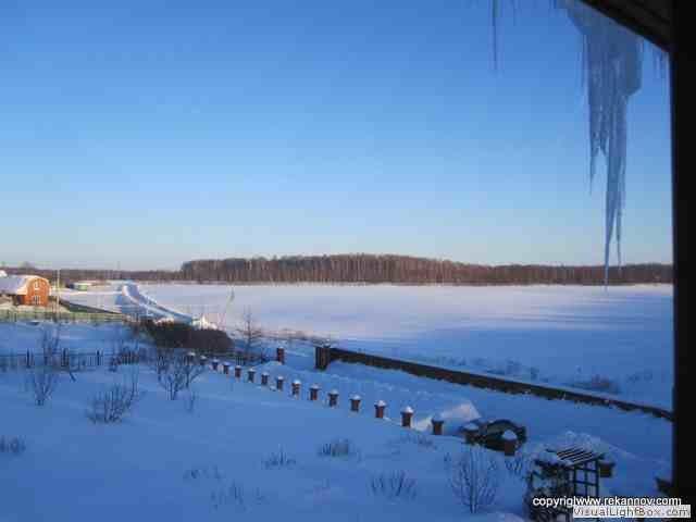 Datcha im Winter