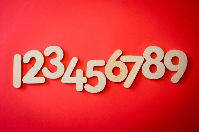 Voor welke getallen staan de letters?