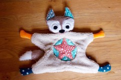Flying fox gris
