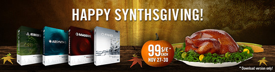 Native Instruments Synthsgiving