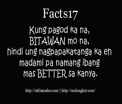 Ibig Pag Hugot Tagalog Sa