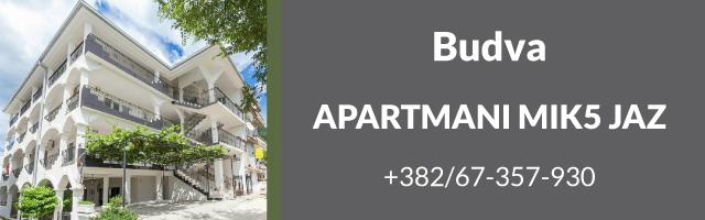 Apartmani Mik5 Jaz - Budva