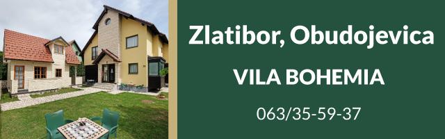 Vila Bohemia Apartmani Zlatibor – Obudojevica