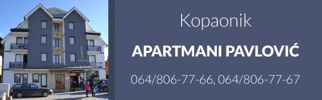 Apartmani Pavlović - Kopaonik