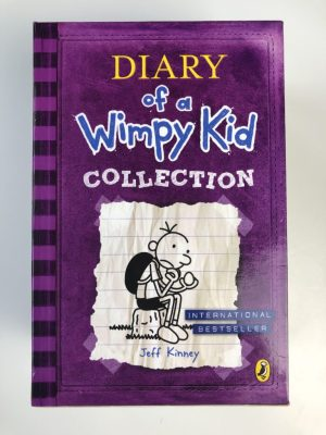 Diary of a Wimpy Kid Box of Books 1-5 (The Ugly Truth, Rodrick Rules, Dog Days, Diary of A Wimpy Kid , The Last Straw)