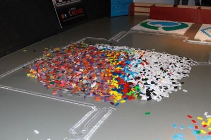Weltrekord Dominopyramide