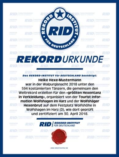 RID-Urkunde-Hexentanz-Mustermann