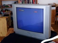halbes Fernsehbild repariert