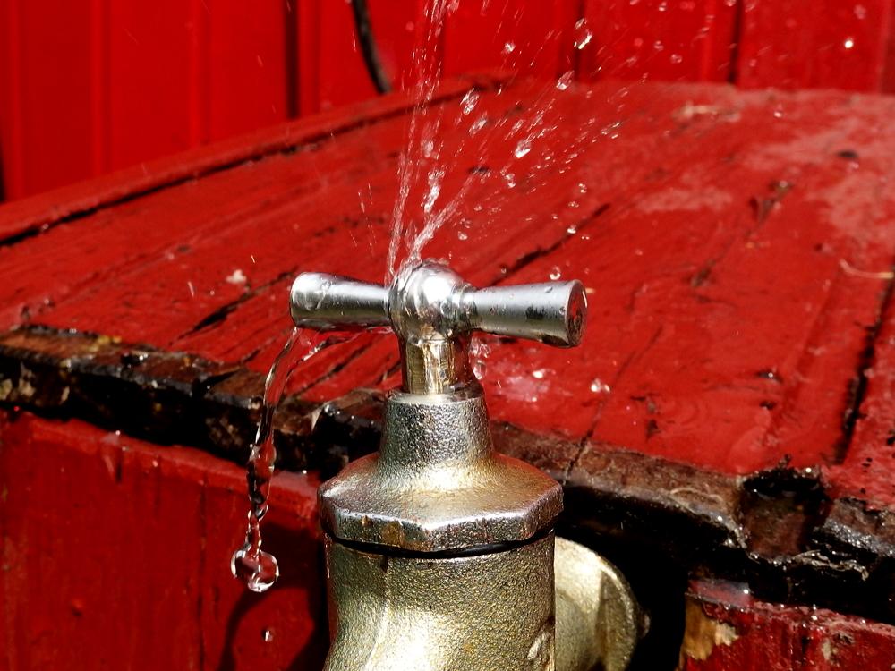 Gartenwasserhahn