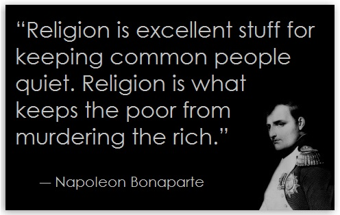 Image result for napoleon religion quote