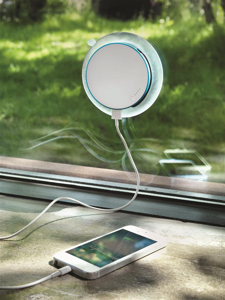 Port; Window Solar Charger.
