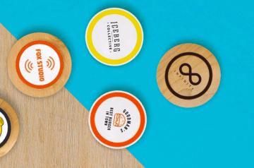 relatiegeschenk inductie powerbank bedrukken met logo