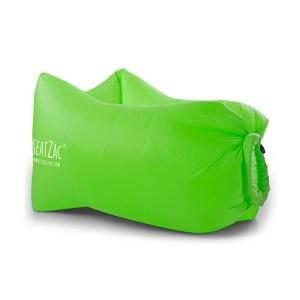 groene lucht zitzakken bedrukken seatzac wild green logo