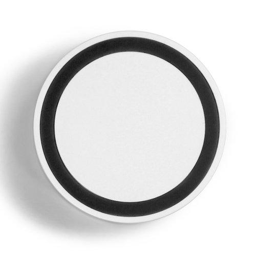 inductie powerbank bedrukken met logo wit top view