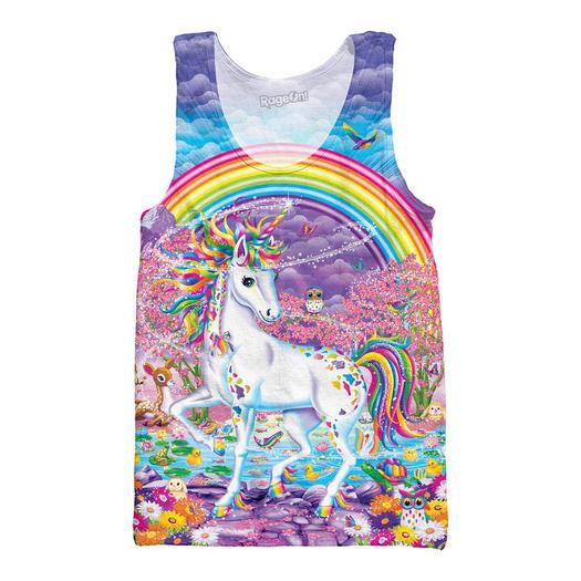unicorn-mode trend tanktop rage-on van lisa-frank