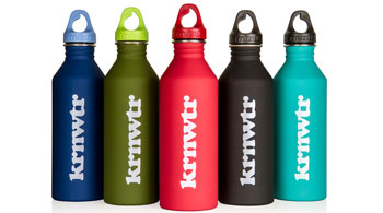 duurzame waterflessen bedrukken diverse kleuren