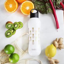 duurzame waterflessen top 5 Bobble fles wit bedrukt