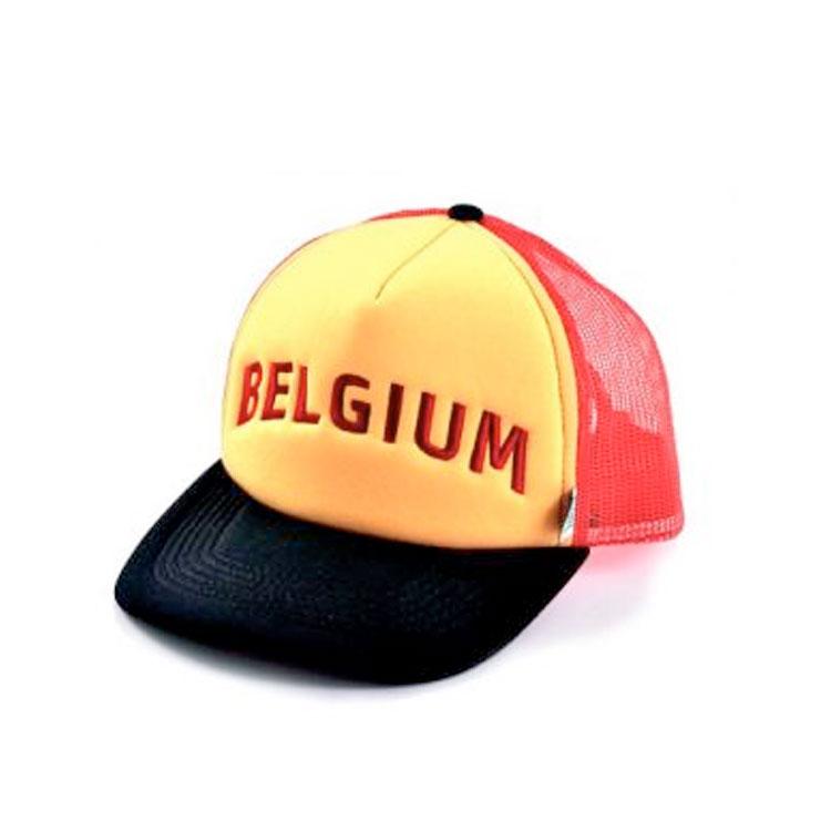 trucker cap driekleur belgië belgische vlag hoedje