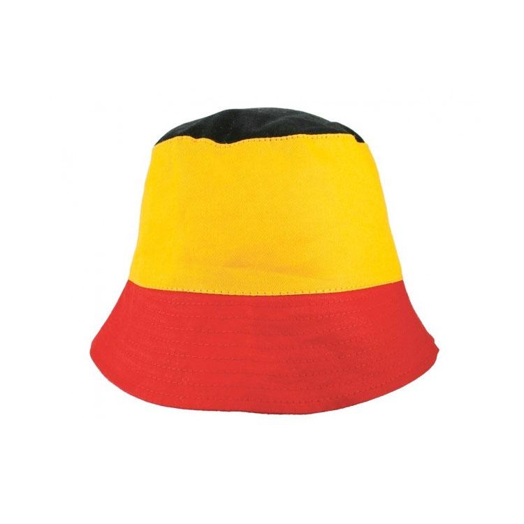vissershoedje driekleur belgië belgische vlag hoedje