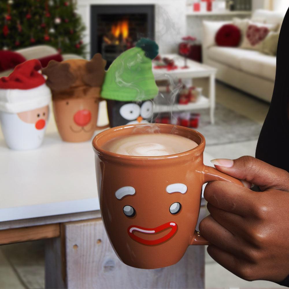lelijke kerstmokken bruin relatiegeschenk tip kerst