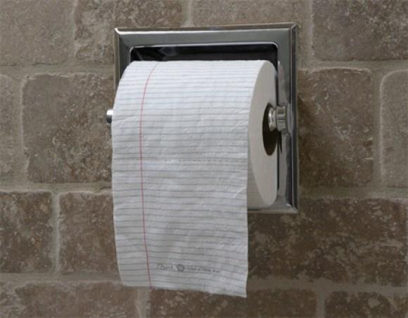 schoolvoorbeeld creatief wc papier bedrukken