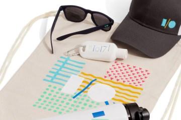 zomerse goodiebag Google IO 2018 relatiegeschenk idee