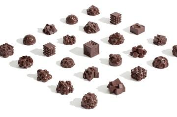 3d print chocolade bonbons relatiegeschenk idee