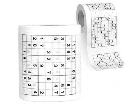 Sudoku Toiletrol bedrukken grapje