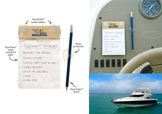 waterproof notitieboekje boot nautisch watersport