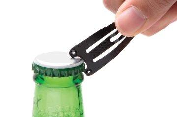 Haarclip flesopener gadget relatiegeschenk bier flesopener
