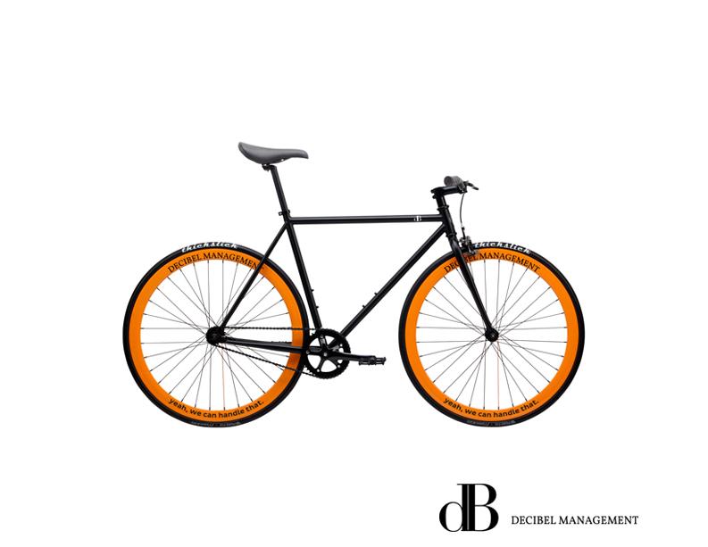 decibel management fiets velgen bedrukken