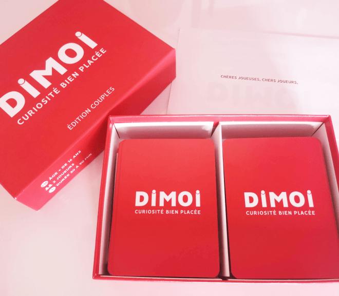[Test et Avis] Dimoi, jeu de questions pour couples