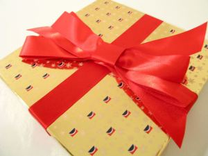 Tie a Red ribbon around those love letters