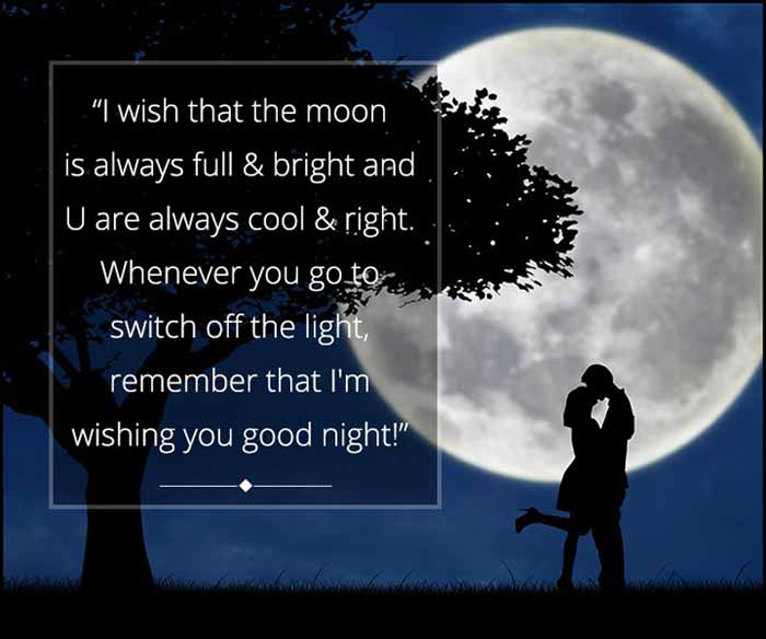 Cute Good Night Messages For Someone Special
