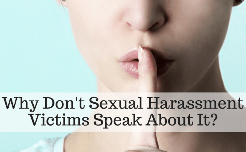 WHY DON'T SEXUAL HARASSMENT VICTIMS SPEAK OUT? Learn how to avoid victim-blaming & the reasons why victims do not report. Therapists Vincent & Laura Ketchie provide insights into the topic and hope to encourage victims and educate those who may be blaming the victims. #MeToo