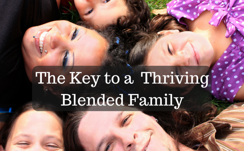 Can my step-family thrive? The key to growing a healthy, vibrant blended family from Relationship Helpers interview with Willie & Rachel Scott. #betterthanblended