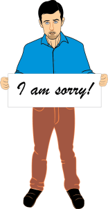 "Women Need To Hear ""I'm sorry"""