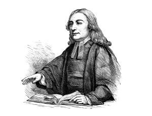 John Wesley - the founder of Methodism.