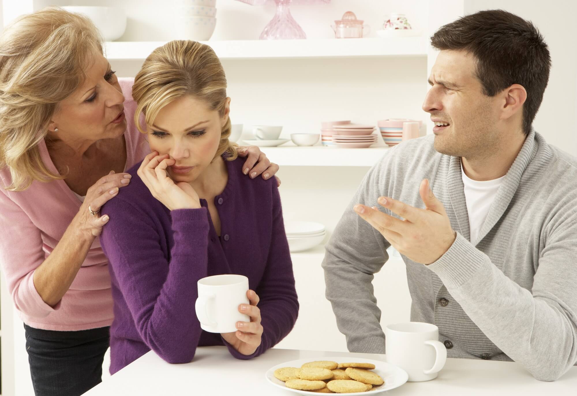 Mother In Law Causing Problems In Marriage? Here's What To Do