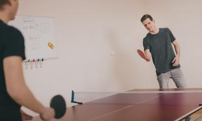 two people playing a game