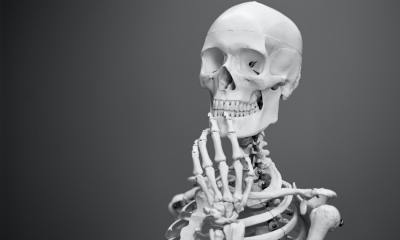 skeleton of the giant