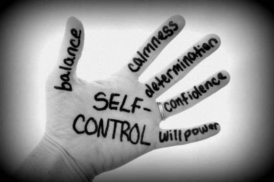 self control and self discpline