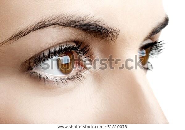 eyes dialating