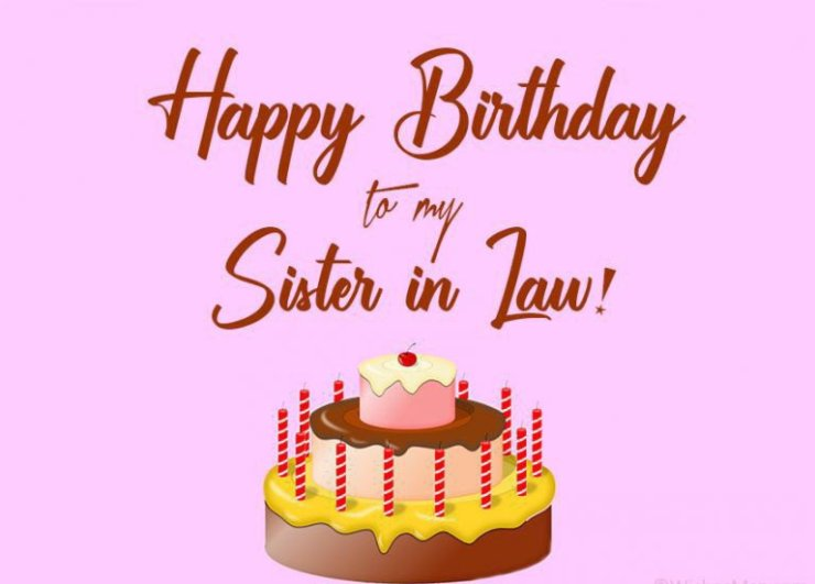 birthday day wishes for sis in law