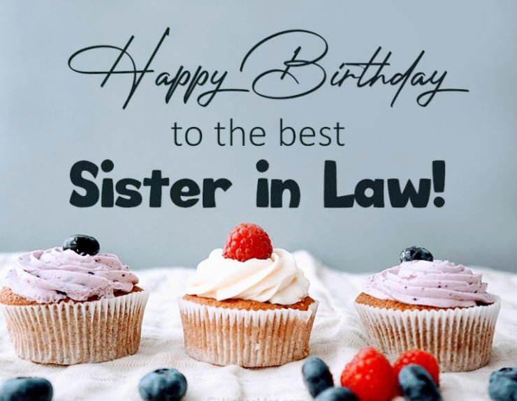 funny birthday wish for sister inlaw