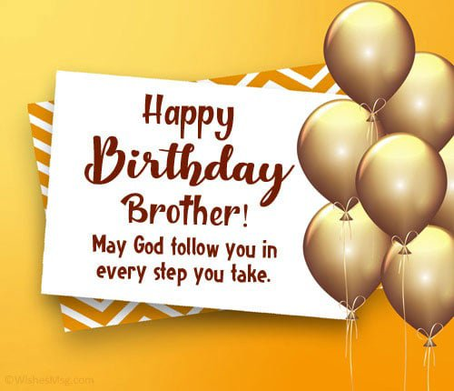 happy birthday brother 21