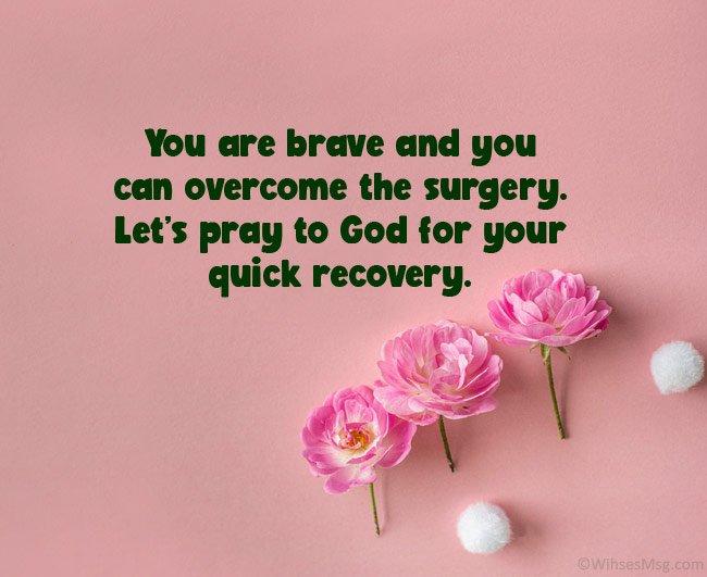 Good Luck Prayers Before Surgery