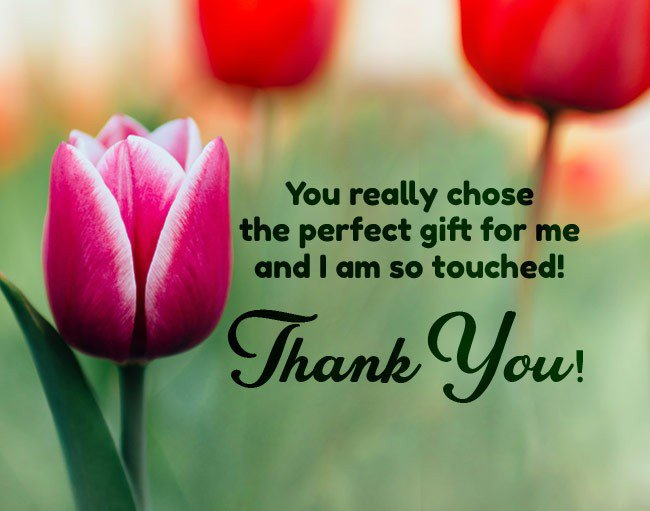 thank you messages for receiving a gift6